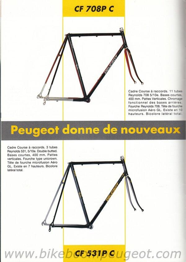 Peugeot 1992 France Course Brochure CF708PC CF531PC.jpg