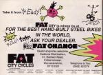 Fat Chance Advert  MBUK Christmas Special 1990