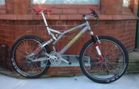 Mr K's 1997 Intense Uzzi XC Factory NOW SOLD