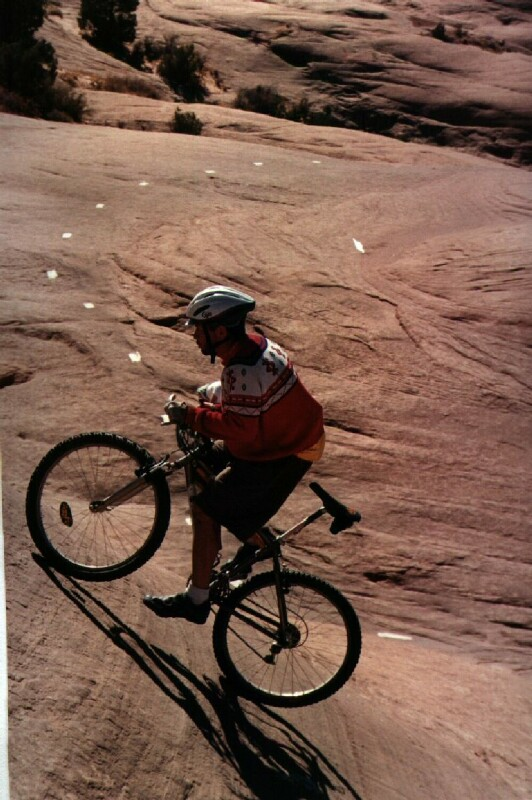 KB on Slickrock in Moab 1995
