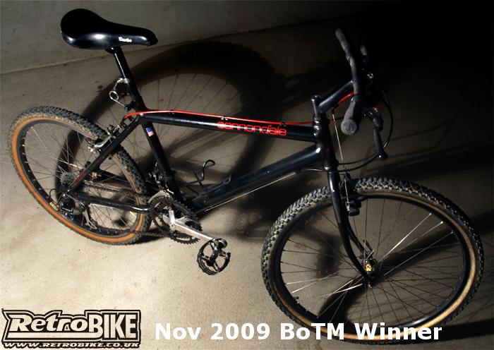 1988 Cannondale SM600 November 2009 BoTM winner