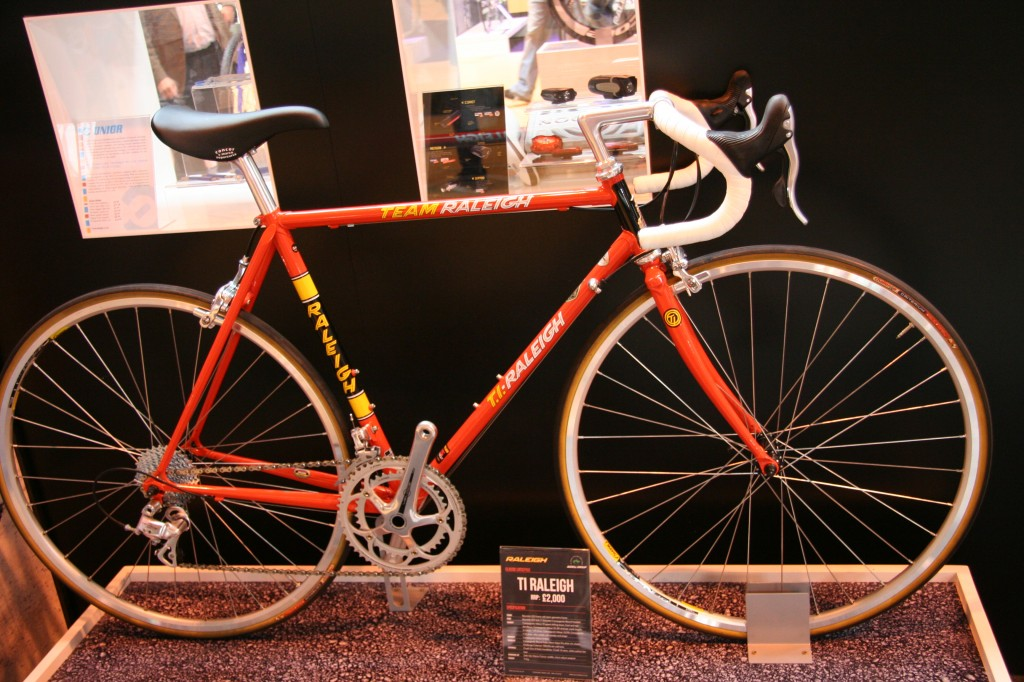 Ti-Raleigh reissue