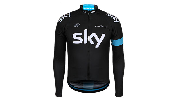 Team Sky Long Sleeve Replica jersey