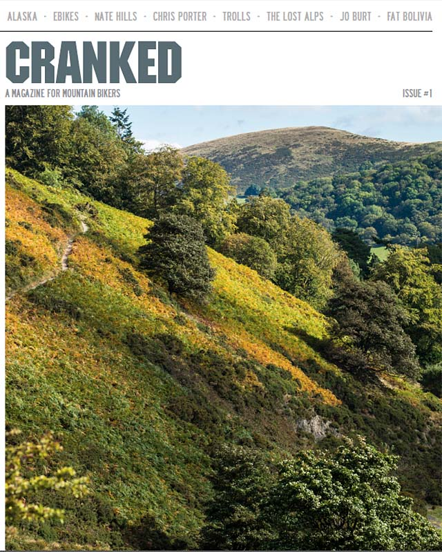 Cranked - new mtb print mag due this spring